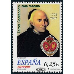 2002 Spain  Sc 3148 Monte de Piedad  **MNH Very Nice, Mint Hever Hinged?  (Scott)