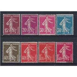 1924 Frankreich Mi# 184/191  0. Säerin (Michel)