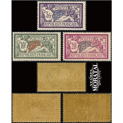 1924 France  Sc# 128, 131/132  0. Merson (Scott)  Generic Series