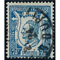 1925 France  Sc# 219  0. Pierre de Ronsard (Scott)  Personalities