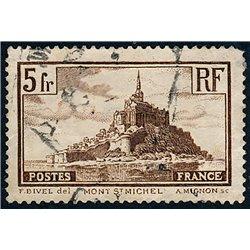 1929 Frankreich Mi# 240a  (o) Gebrauchte, Zustand. Sehenswürdigkeiten (Michel)  Tourismus