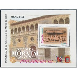 2002 Spain  Sc 3150 Sheet Philaiberia Exposition **MNH Very Nice, Mint Hever Hinged?  (Scott)