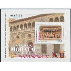 2002 Spanien  Mi Block105 Philaiberia Ausstellung ** Perfekter Zustand, Postfrisch   (Michel)