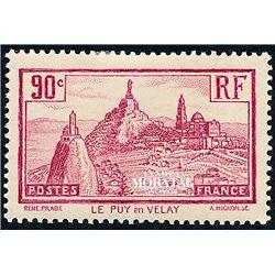 1933 France  Sc# 290  0. Le Puy en Velay (Scott)