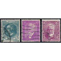 1933 Frankreich Mi# 287/289  0. Persönlichkeíten (Michel)  Persönlichkeiten