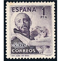 1950 Spain  Sc 771 San Juan de Dios Religious   (Scott)