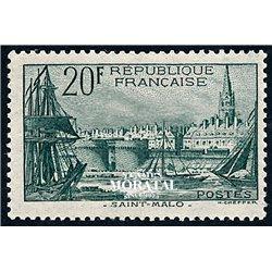 1938 France  Sc# 347  0. Type Divers (Scott)