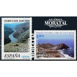 2002 Spanien 3729/3730  Natur  ** Perfekter Zustand  (Michel)