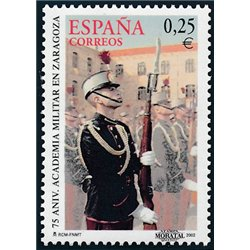 2002 Spanien 3731 Zaragoza-Militärakademie  ** Perfekter Zustand  (Michel)