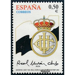 2002 Spain  Sc 3156 Irun Club Soccer **MNH Very Nice, Mint Hever Hinged?  (Scott)
