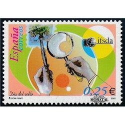 2002 Spanien 3733 Tag der Briefmarke  ** Perfekter Zustand  (Michel)