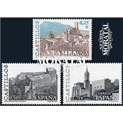 2002 Spain  Sc 3158/3160 Castles Castles **MNH Very Nice, Mint Hever Hinged?  (Scott)