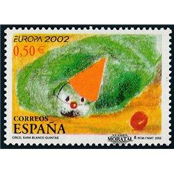 2002 Espagne 3461 L'Europe 2002  **MNH TTB Très Beau  (Yvert&Tellier)