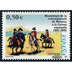 2002 Espagne 3462 Menorca  **MNH TTB Très Beau  (Yvert&Tellier)