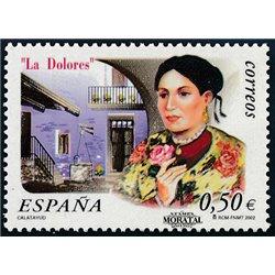 2002 Espagne 3470 La Dolores  **MNH TTB Très Beau  (Yvert&Tellier)