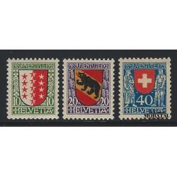 1921 - Switzerland  Sc# B18/B20  * MH Nice. Pro Juventute 21 (Scott)