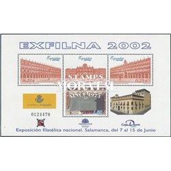 2002 Spanien Block106 Block-Exfilna 2002  ** Perfekter Zustand  (Michel)