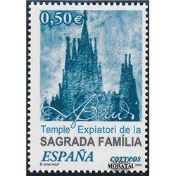 2002 Spanien 3772 Gaudí  ** Perfekter Zustand  (Michel)