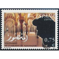 2002 España 3925/3932 La Música    (Edifil)