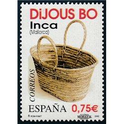 2002 España 3925C Carnet La Música    (Edifil)