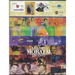 2002 Spanien Follenblatt Exp.Mundial Filat. Jugend-Spanien ' 02 MP  ** Perfekter Zustand  (Michel)