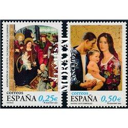 2002 Spanien 3811/3812  Weihnachten  ** Perfekter Zustand  (Michel)