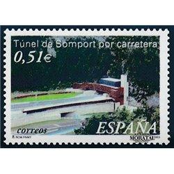 2003 Espagne 3527 Tunnel du Somport  **MNH TTB Très Beau  (Yvert&Tellier)