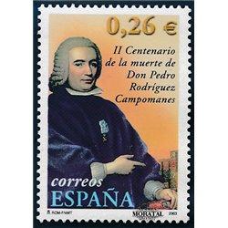 2003 Spanien 3816 Pedro Rodriguez Campomanes  ** Perfekter Zustand  (Michel)