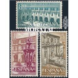 1960 Espagne 999/1001  Samos Monastère-Tourisme *MH TB Beau  (Yvert&Tellier)