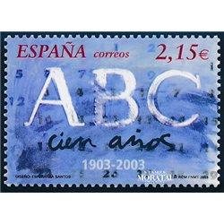 2003 Espagne 3533 Journal de l'ABC  **MNH TTB Très Beau  (Yvert&Tellier)