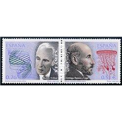 2003 Spanien 3820/3821  Spanische Nobelpreisträger  ** Perfekter Zustand  (Michel)