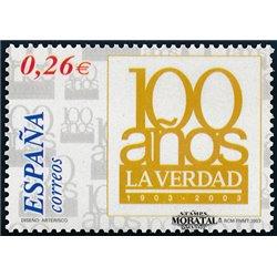 2003 Espagne 3539 Vérité quotidienne  **MNH TTB Très Beau  (Yvert&Tellier)