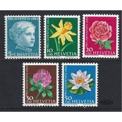 1964 - Switzerland  Sc# B339/B343  ** MNH Very Nice. Pro Juventute 64 (Scott)