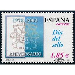 2003 Spanien 3838 Tag der Briefmarke  ** Perfekter Zustand  (Michel)