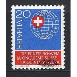 1966 - Switzerland  Sc# 476  ** MNH Very Nice. Society of Swiss Abroad (Scott)