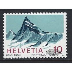 1966 - Switzerland  Sc# 479  ** MNH Very Nice. Finsteraarhorn (Scott)