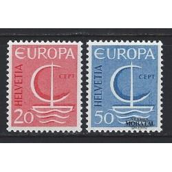 1966 - Switzerland  Sc# 477/478  ** MNH Very Nice. Europa 66 (Scott)