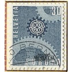 1967 - Switzerland  Sc# 482  © Used, Nice. Europa  67 (Scott)