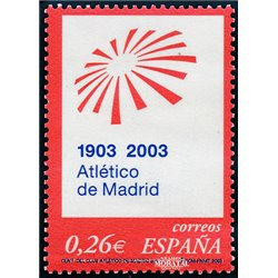 2003 Espagne 3554 Atlético Madrid  **MNH TTB Très Beau  (Yvert&Tellier)