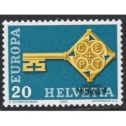 1968 - Switzerland  Sc# 0  * MH Nice. Years Events & Europa 68 (Scott)