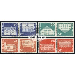 1968 - Switzerland  Sc# 0  ** MNH Very Nice. Postal history motifs and architectural monuments. (Scott)