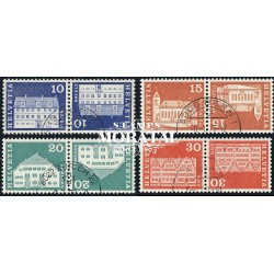 1968 - Switzerland  Sc# 0  © Used, Nice. Postal history motifs and architectural monuments. (Scott)