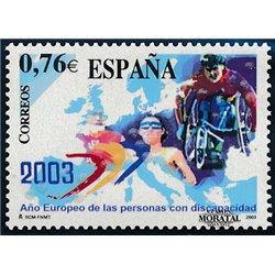 2003 Espagne 3556 Année européenne des personnes handicapées  **MNH TTB Très Beau  (Yvert&Tellier)
