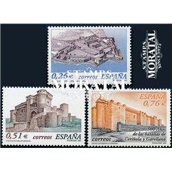 2003 Espagne 3557/3559  Châteaux  **MNH TTB Très Beau  (Yvert&Tellier)
