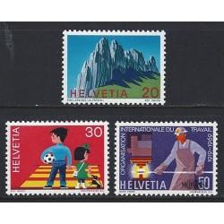 1969 - Switzerland  Sc# 507/509  ** MNH Very Nice. Years Events (Scott)