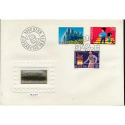 1969 - Switzerland  Sc# 507/509  F.D.C.  Nice. Years Events (Scott)