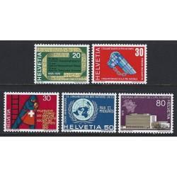 1970 - Switzerland  Sc# 510/514  ** MNH Very Nice. Years Events (Scott)