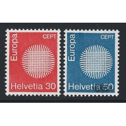 1970 - Switzerland  Sc# 515/516  ** MNH Very Nice. Europa 70 (Scott)
