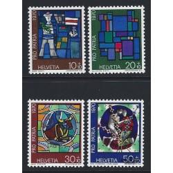 1970 - Switzerland  Sc# B390/B393  ** MNH Very Nice. Pro Patria 70 (Scott)