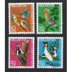 1970 - Switzerland  Sc# B394/B397  ** MNH Very Nice. Pro Juventute 70 (Scott)